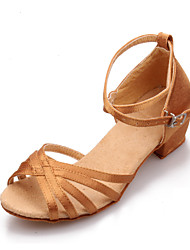 Girls' Shoes Black/Brown Others 3-6cm Sandals (PU)