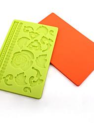 силиконовые формы для выпечки помады / шоколад / украшения торта формы (случайный цвет)