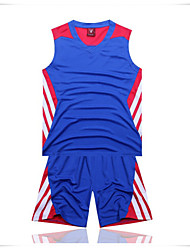 Basketball Jersey Suit Quick Dry Multicolor