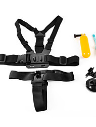4 en 1 Accessoires costume pour GoPro Hero 4/3 + / 3/2/1 / sj4000 / sj5000 / sj6000