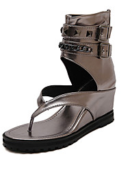 Women's Shoes  Wedge Heel Wedges Sandals Casual Black/Silver