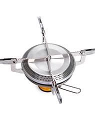 Cleanmate métal poêle Accessoires de poêles Poêles de Randonnée argent Sets