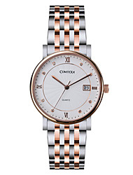 COMTEX Männer Stahlquarz-Uhr s6194g-2-5