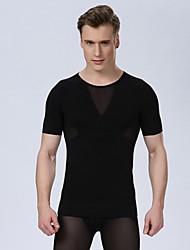 Sexy Men Corset Men Slim Body Shaper Waist Abdomen Underwear Slimming Shirt Gym Tank Top Bodybuilding Gym Fashion Shirt