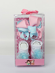 Baby Headband and Baby Socks Gift Set