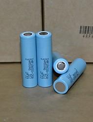 inr18650 25r 2500mah 20a elevato consumo di batteria Li e batterie sigaretta vaporizzatore cacciavite elettronica