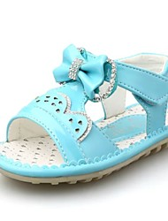 Baby Shoes Dress Patent  Sandals Blue/Pink/Red