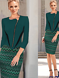 VICONE Women's Sexy/Bodycon/Cute/Party/Work ½ Length Sleeve Pencil  Dresses