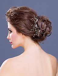 Women's/Flower Girl's Rhinestone/Crystal/Alloy Headpiece - Wedding/Special Occasion/Casual Hair Pin 3 Pieces