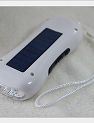 3 em 1 dínamo rádio digital FM solar com lanterna 5 liderada pelos multifunções rádio