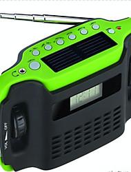 Outdoor Portable Digital Dynamo Hand crank Solar FM AM Digital Radio