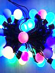 6w 5 metro di diametro esterno lampadina 50pcs ha condotto le luci della stringa di modellazione luci di palla grande, color rgb
