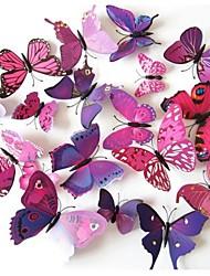 die dreidimensionale Simulation Schmetterling Wandaufkleber