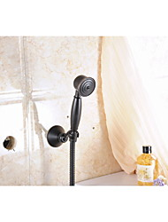 Oil Rubbed Bronze Wall Mount Handheld Shower Faucet shower mixer tap set Single Handle Wall Mount