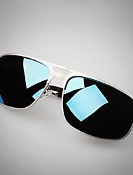 Sunglasses Men's Lightweight / Polarized Flyer Black / Silver / Gold / Gray Sunglasses / Driving Full-Rim