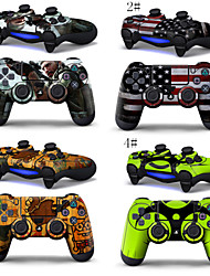 Sticker Decal Full Protector Skins for PS4 Game Controller