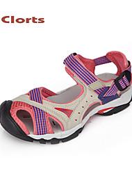 clorts 2015 mujeres de la PU de las sandalias de los zapatos planos zapatos de plataforma al aire libre la mujer de velcro zapatos de