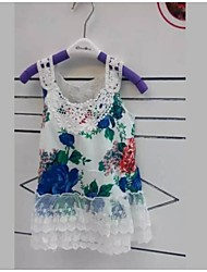 Kid's Casual/Cute Dresses (Cotton/Lace)