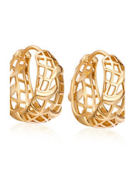 Women's Exaggeration 18K Gold Plating Earrings