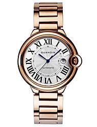 GUANQIN® Top Grade Men Swiss Automatic Self-wind Waterproof Watch Sapphire Crystal Steel Luxury 43mm Business Wrist Watch Cool Watch With Watch Box