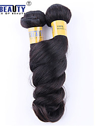 "4 Pcs /Lot 12""-28""6A Brazilian Virgin Hair Loose Wave Human Hair Wefts 100% Unprocessed Brazilian Remy Hair Weaves"