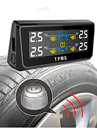 TPI08 4 Exetrnal Sensor Car Tire Gas Monitoring with LCD Panel