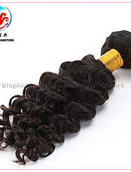 "16""6A LXBD 2015 Hot Sale Natural Colour Deep Wave Remy Hair Malaysian Hair Weave"