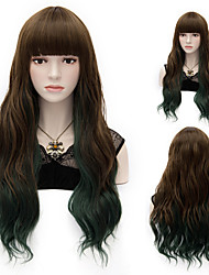 Mix Color Synthetic Wig Womens' Hair High Quality Synthetic Wigs