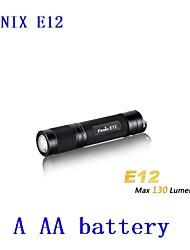 Lanternas LED ( Emergência ) - Para Campismo / Escursão / Espeleologismo - LED 3 Modo 130lm Lumens AA Cree XP-E R2 Bateria Fenix