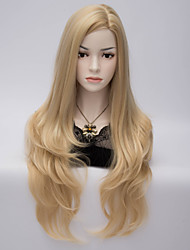 70 Cm Harajuku Anime Cosplay Wigs Young Long Synthetic Hair Wig Blonde Costume Party Wigs For Women
