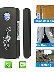 SMS Call Magnetic Mini GSM Door Window Alarm Tracker With Car Alarme Tracking