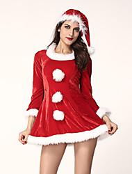 Plus d'accessoires - Costumes de père noël - Féminin - Noël - Robe/Chapeau