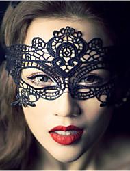 Mulheres Renda Capacete-Casamento Ocasião Especial Casual Ao ar Livre Fascinador Véus de Rede Máscaras 1 Peça