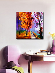 Oil Paintings One Panel Abstract Landscape Hand-painted Canvas Ready to Hang