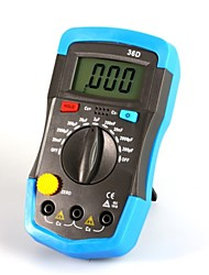 синий цифровой измеритель емкости емкостной измерения 0.1pf-20mf