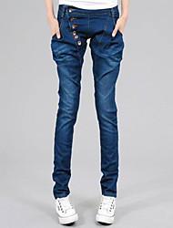 Women's Thin Slim Waist Jeans