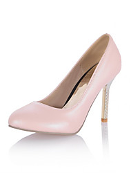 Women's Shoes Synthetic Stiletto Heel Heels/Platform/Basic Pump Pumps/Heels Office & Career/Dress/Casual