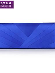 AIKEWEILI®Women's Purse Fashion Silk Drape Evening Bag Korean Style Luxury Wedding Party Bag Lady's Wallet