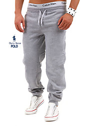 Men's Sweatpants , Casual/Work/Formal/Sport/Plus Sizes Pure Cotton Blend