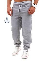 Men's Sweatpants , Casual/Work/Formal/Sport/Plus Sizes Pure Cotton Blend