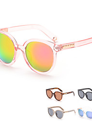 Women 's Mirrored Oval Sunglasses