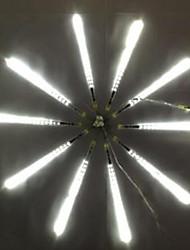 DC12V Eingang 23w 30cm lang 36pcs 3528SMD führte Meteor regen Licht, weiße Farbe 10 Stück / Set