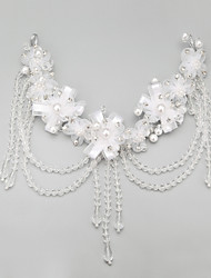 Women's Flower Girl's Alloy Imitation Pearl Headpiece-Wedding Special Occasion Headbands 1 Piece