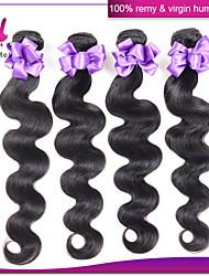 Malaysian Virgin Hair Body Wave Human Hair Weave 6A Malaysian Body Wave 3 Bundles No tangle no shedding