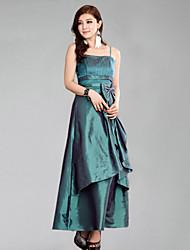 de forma magro andar de comprimento vestido de festa de casamento da dama de honra das mulheres