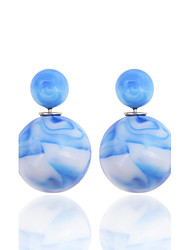 Party/Casual Acrylic/Fashion China's Wind Colour Ink Resin Stud Earrings