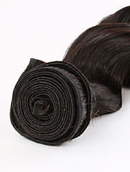 """Hot Selling 16"""" Machine Weft Indian Remy Virgin Hair Loose WaveHair Extension"""