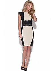 Moonosa 2015 Europe and the New Bandage Dress, Evening Dress Skirt Nightclub Mounted Club Clothing T052