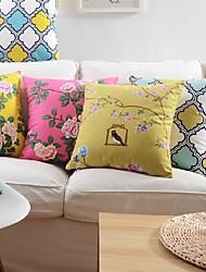 soft traditionellen / klassischen Blumendruckpolsterbezüge in 3 Größe