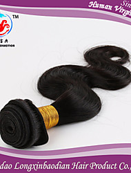 "8-26""5A Hot Sale Body Wave Natural Color 100% virgin Briazilian Human Hair Weft"